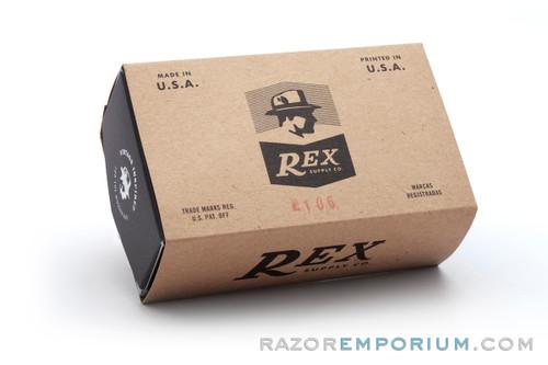 REX Supply Co. Deco Stainless Shaving Brush