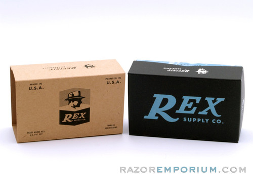 Rex Supply Co. Safety Razor Box ONLY