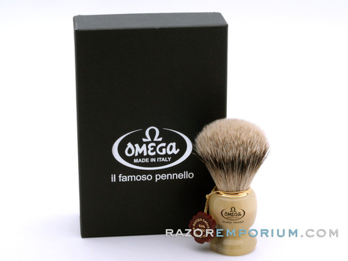 Omega 621 Super Badger Omega Shaving Brush