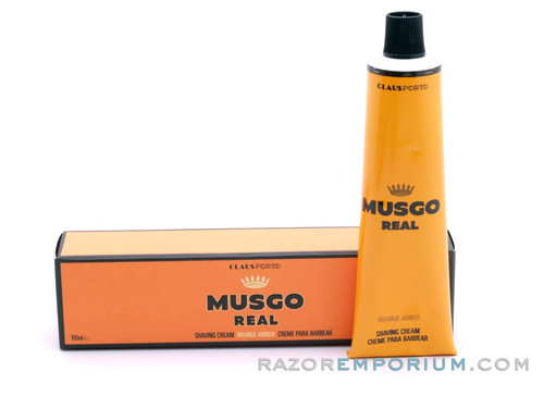 Musgo Real Shaving Cream - Orange Amber