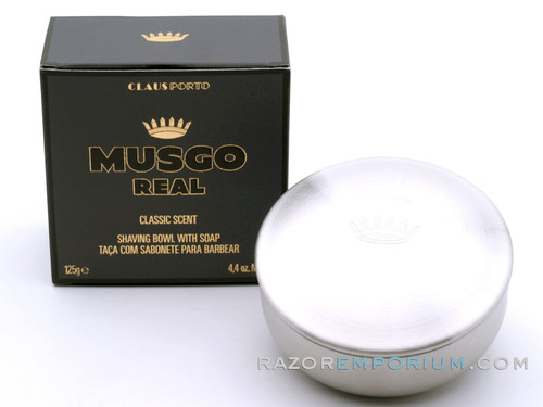 Musgo Real Shaving Bowl w/ Soap - Classic Scent