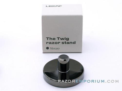The Twig Razor Stand LEAF | Mercury