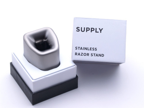 The Single Edge 2.0 Razor Stand | Stainless Steel