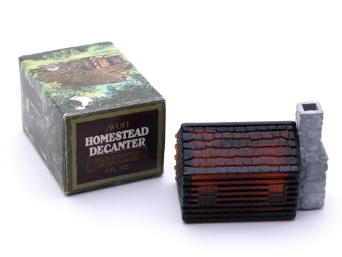 Homestead Decanter Wild Country After Shave