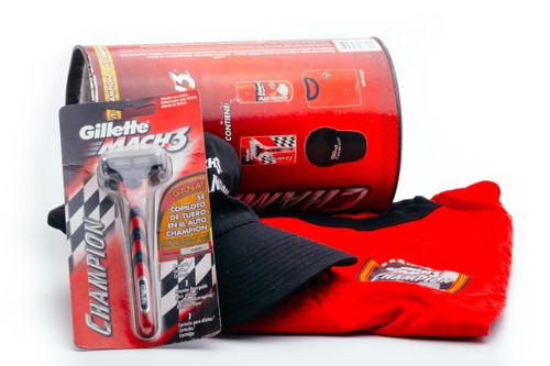 1990's Gillette Mach 3 Champion - Spanish Collectible Set - Cartridge Razor NOS