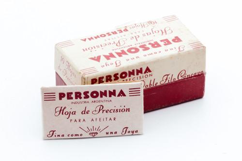 NOS Personna Diamond Blades - Made in Argentina - Double Edge Razor Blades
