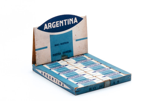 Argentina Micron Edged DE Safety Razor Blades - New Old Stock