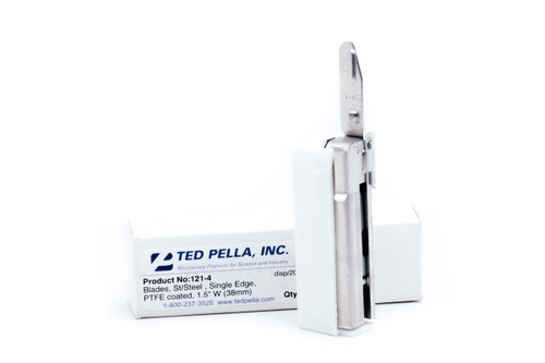 Ted Pella Stainless Steel Injector Blades - 20 with Key