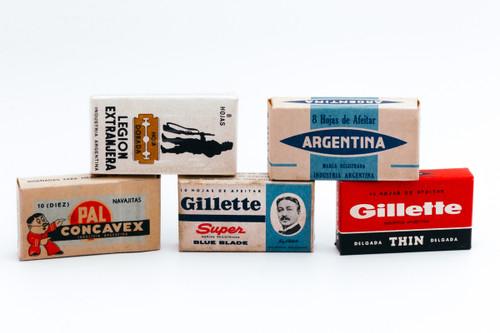 Double Edge Safety Razor Blade Sample Pack - Vintage NOS