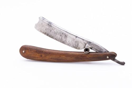 """6/8"""" Steel Cutlery Co Sheffield Straight Razor"""