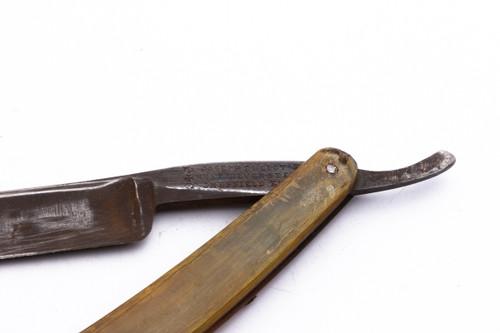 "9/16"" Joseph Elliot's Rest Silver Steel Straight Razor"