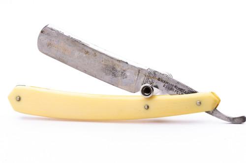 """5/8"""" C.Kammerling & Co Silver Steel Straight Razor"""
