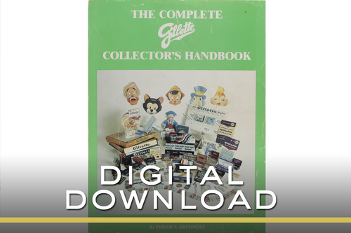 The Complete Gillette Collector's Handbook by Phillip Krumholtz E-book