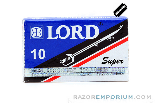 Lord Super Stainless DE Safety Razor Blades