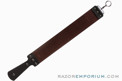 "3"" Razor Emporium Latigo & Canvas Straight Razor Strop - Made in USA"