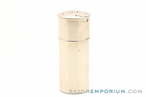 1920s Gillette Soap & Brush Metal Canister for Travel Sets Factory Nickel Revamp