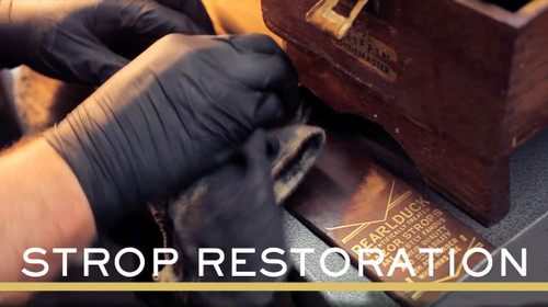 Straight Razor Strop Restoration Service