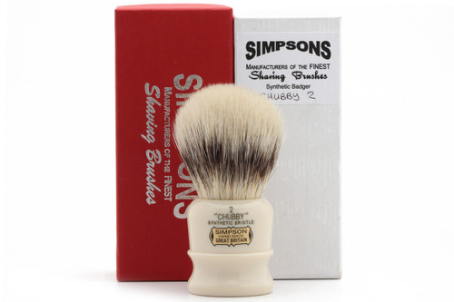 Simpsons Chubby 2 Synthetic Shaving Brush