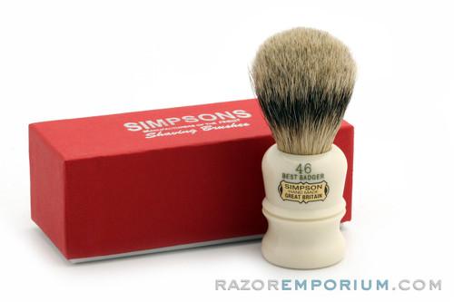 Simpsons Berkley 46 Badger Shave Brush