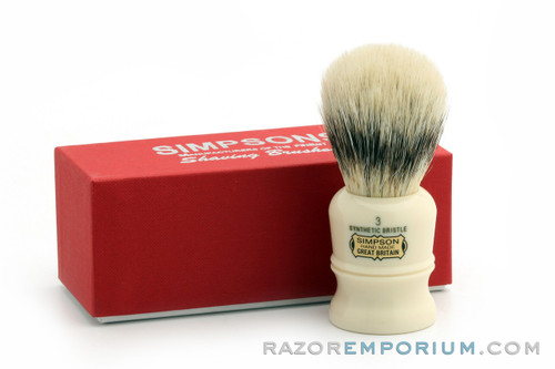 Simpsons The Duke 3 Synthetic Shave Brush