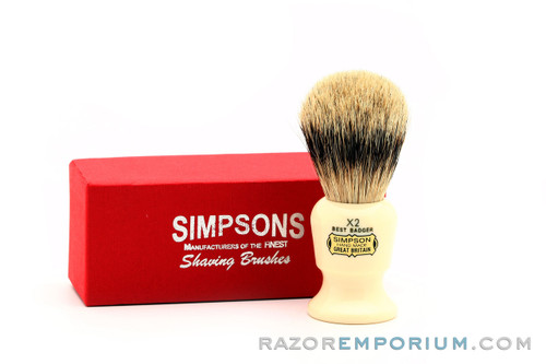 Simpsons Commodore X2 Best Badger Shave Brush