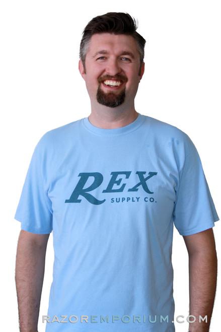 REX Supply Co. Official Blue T-Shirt