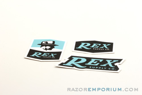 REX Supply Co. Stickers (Set of 3)