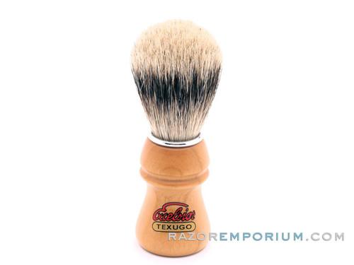 Semogue 2015HD Silvertip Badger Brush in Wood Handle