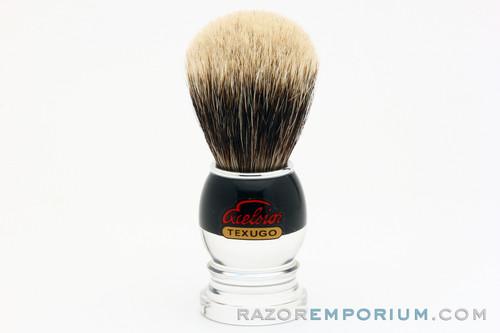 Semogue 2040HD Silvertip Badger Brush in Acrylic Handle