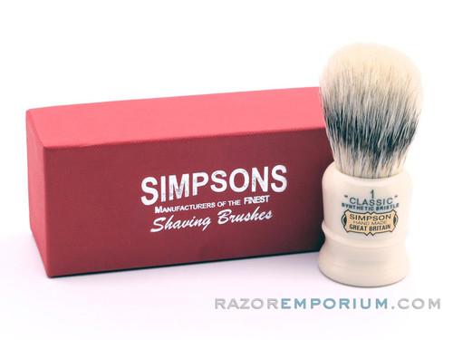 Simpsons Classic 1 Synthetic Shaving Brush