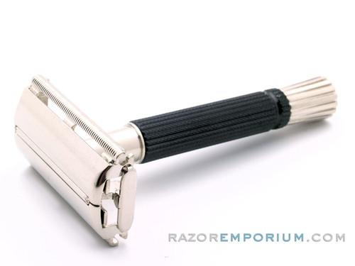 1973 T3 Gillette Black Handle Super Speed DE Safety Razor