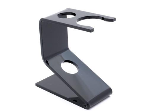 Semogue Acrylic Shaving Brush & Razor Stand Black - 24mm