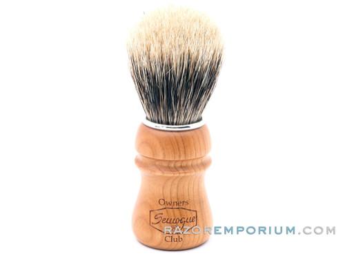 Semogue SOC-C5 Finest Badger Shaving Brush (Cherry)