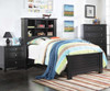 Mallowsea Bookcase Bed Twin Size Black | Acme Furniture | ACM-30380T