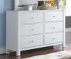 Mallowsea Dresser White | Acme Furniture | ACM-30425