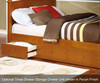 Allen House Chelsea Full over Full Bunk Bed with Stairs White | 23672 | AH-A-FF-01-STR-T-A