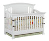 Allen House Jordan Convertible Crib White | Allen House | AH-C-JC-01