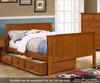 Allen House Brandon Full over Full Bunk Bed with Stairs White | Allen House | AH-J-FF-01-STR-T-J