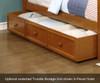 Allen House Brandon Full over Full Bunk Bed with Stairs White | 23718 | AH-J-FF-01-STR-T-J