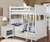 Allen House Brandon Bunk Bed White | Allen House | AH-J-TT-01