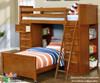 Allen House Student Loft Bed White | 23745 | AH-SL-TT-01