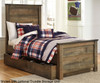 Trinell Panel Bed Twin Size   23997   ASB446-525383