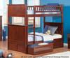 Nantucket Bunk Bed Antique Walnut | 24075 | ATL-AB59104
