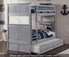 Nantucket Bunk Bed Driftwood Grey | 24077 | ATL-AB59108