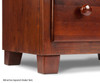 Atlantic Nightstand Antique Walnut | Atlantic Furniture | ATL-C-68204