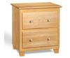 Atlantic Nightstand Natural Maple   Atlantic Furniture   ATL-C-68205