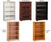 Atlantic 4 Tier Bookcase White | Atlantic Furniture | ATL-C-69302
