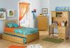 Brooklyn Twin Size Trundle Bed Natural Maple | Atlantic Furniture | ATLBRK-TRT-NM