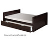 Camaflexi Low Platform Bed Full Size Cappuccino 1 | Camaflexi Furniture | CF-E1422
