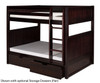 Camaflexi High Bunk Bed Full Size Cappuccino 2 | 24581 | CF-E1622